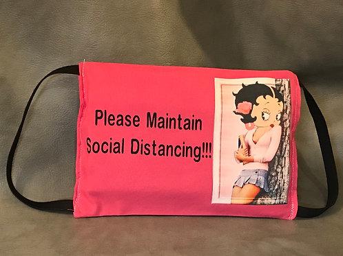 "Betty Boop ""Maintain Social Distance"