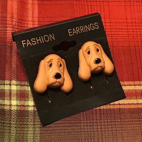 Sad Dog Earrings