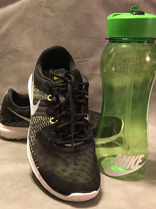 Green Sports Bottle(Shoes NOT included)