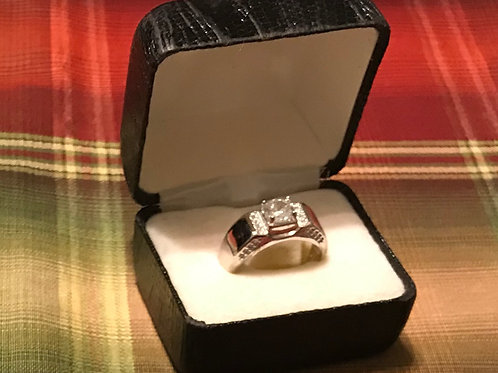 Mens Silver Ring (Size 11)