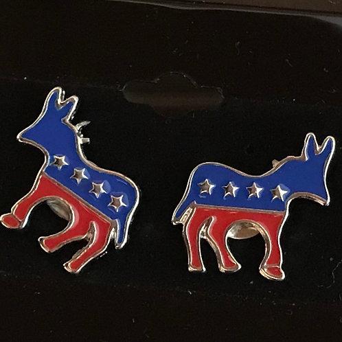 Democrat Stud Earrings