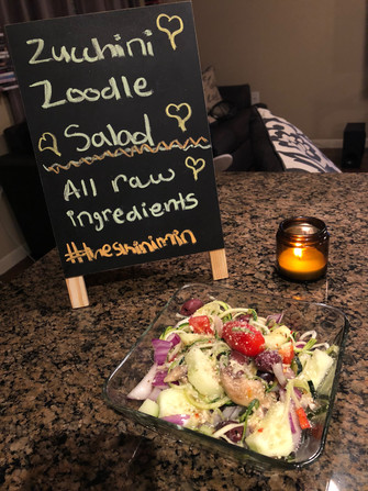 """Zoodle"" Salad"