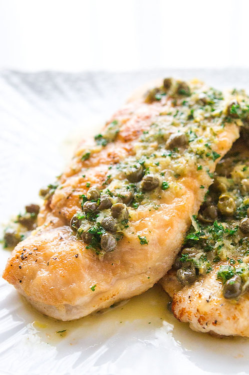 Chicken Piccata - Couples Special