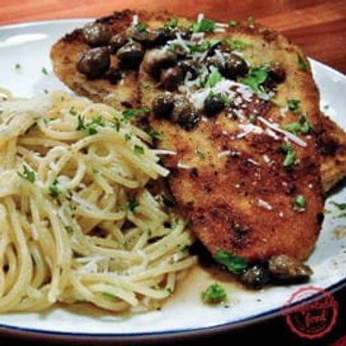 Eggplant Piccata - Single Serving