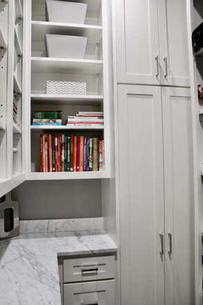 Marble Shaker Pantry