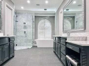 Modern Luxury Master Bathroom