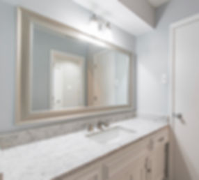 Vanity Area After Photo