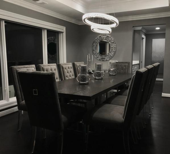 Modern Elegance Dining Room