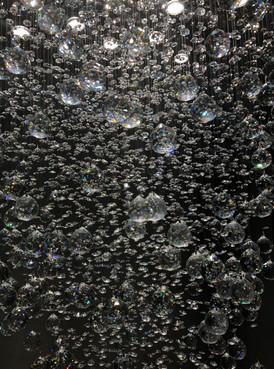 Grand Entrance Crystal Chandelier - Close Up