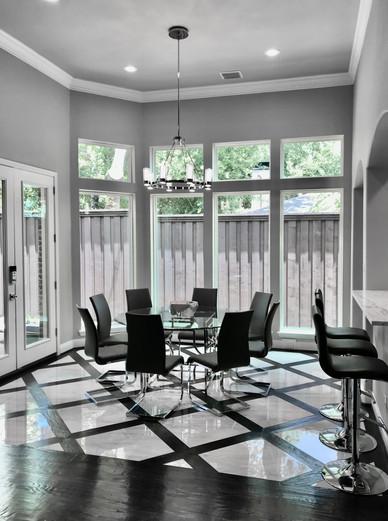 Modern Luxury Breakfast Area