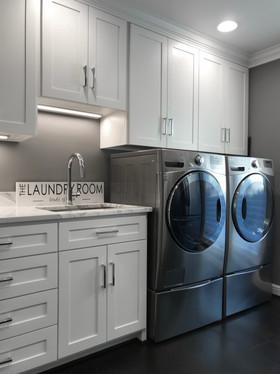 Modern Elegance Laundry Room