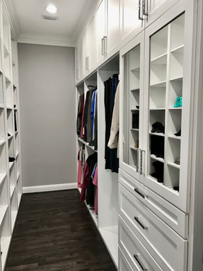 Modern Luxury Master Closet #1