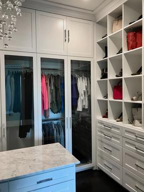 Modern Elegance Boutique Master Closet