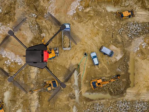 O futuro é agora! Drones são usados em área de mineração