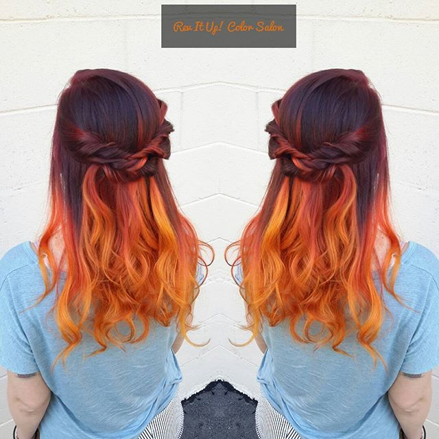 Love love love this !!! Had so much fun doing this color and style on _bitchhhfantastic