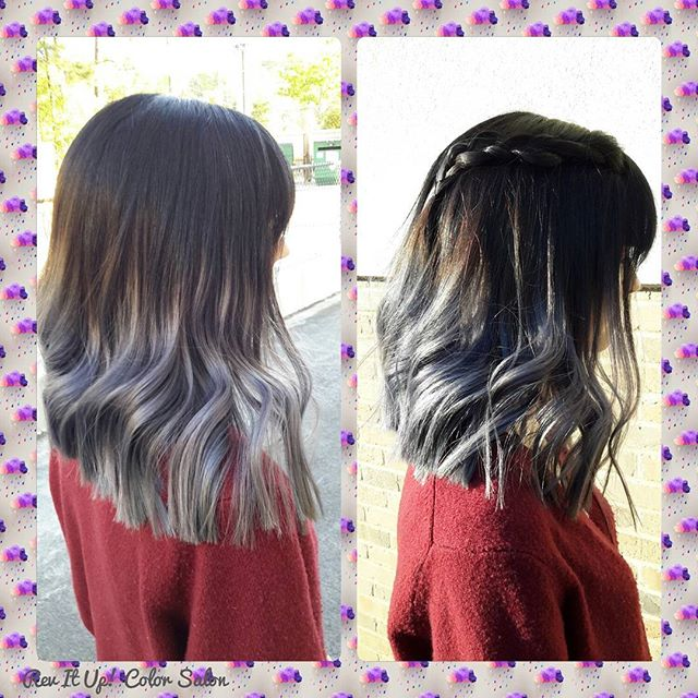 Did this fun silver hair with Kenra 7sm ! And I'm so happy with the final look