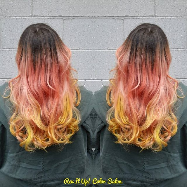 🍑🍑🍋🍋🍋🍉🍉🍊🍊🍓🍓_Sherbert, Mermaid,Pink Lemonade hair on my darling _lolaisajewel_Come play (7