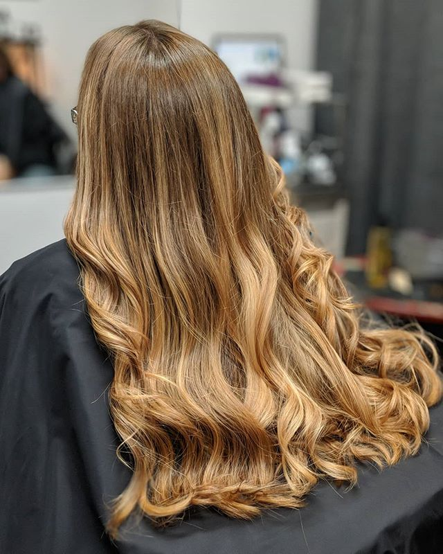 Flash back to this Balayage Sandwich tec