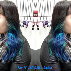 When you catch your friend on a good hair day and snap a photo of your work 😍😜❤❤_#redken # Flashli