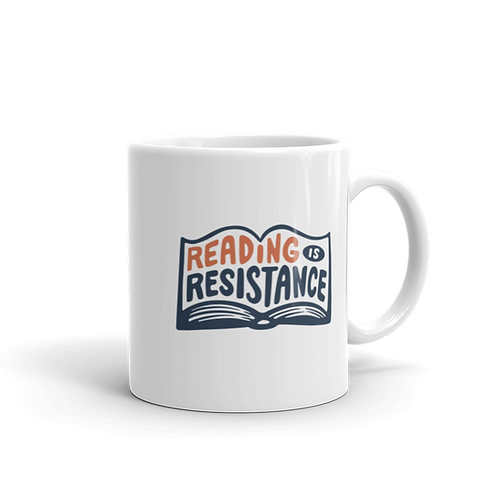 Reading Is Resistance Book Mug