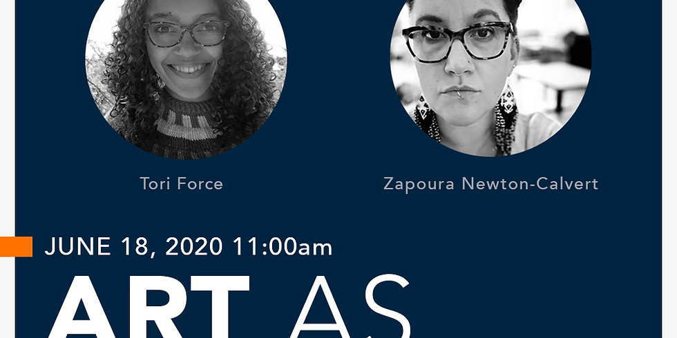 Coffee Break Conversations: Art as Activism with Tori Force