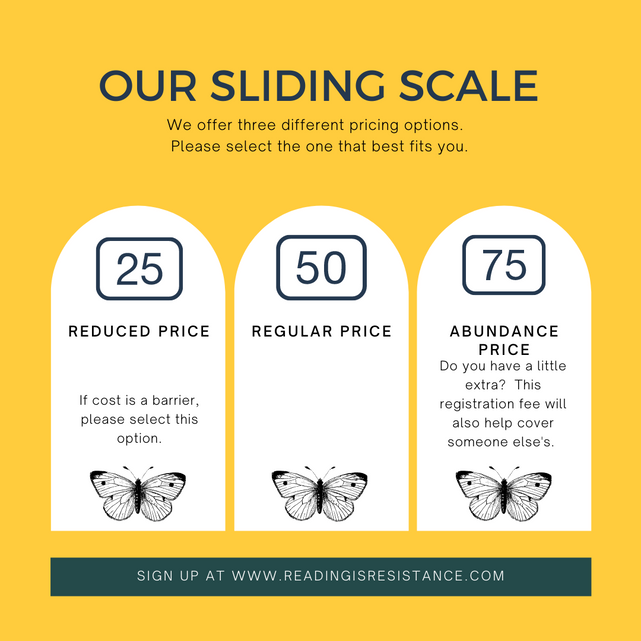 About Our Sliding Scale