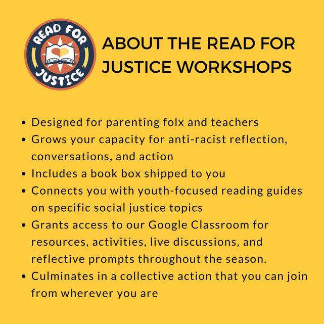 About the Read for Justice Workshops