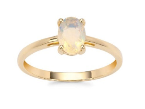 ETHIOPIAN OPAL 9CT GOLD RING