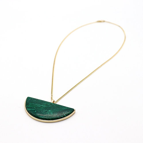 MALACHITE LONG NECKLACE