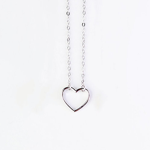SWEETHEART NECKLACE IN STERLING SILVER