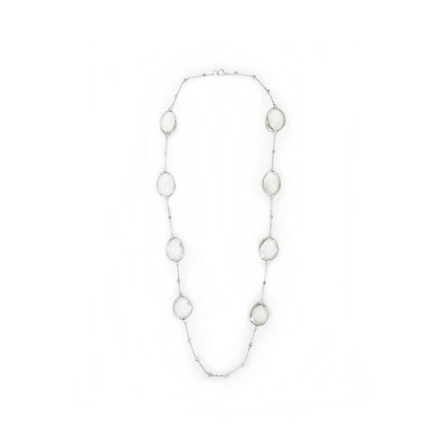 MINT QUARTZ STERLING SILVER NECKLACE