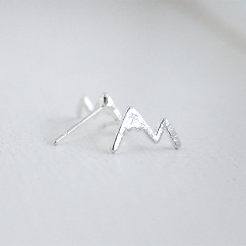 STERLING SILVER MOUNTAIN STUDS