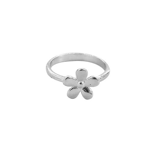 DAISY FLOWER IN STERLING SILVER