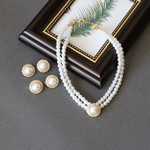 PRETTY IN PEARL PARTY PEARL NECKLACE