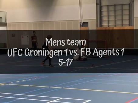 UFC Groningen 1 vs. FB Agents 1 | 5-17