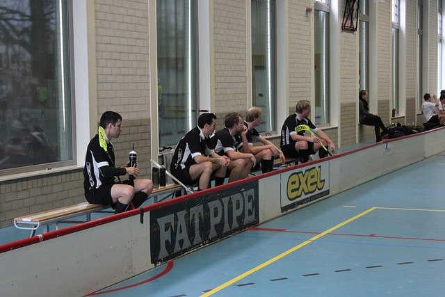 Mens team in black