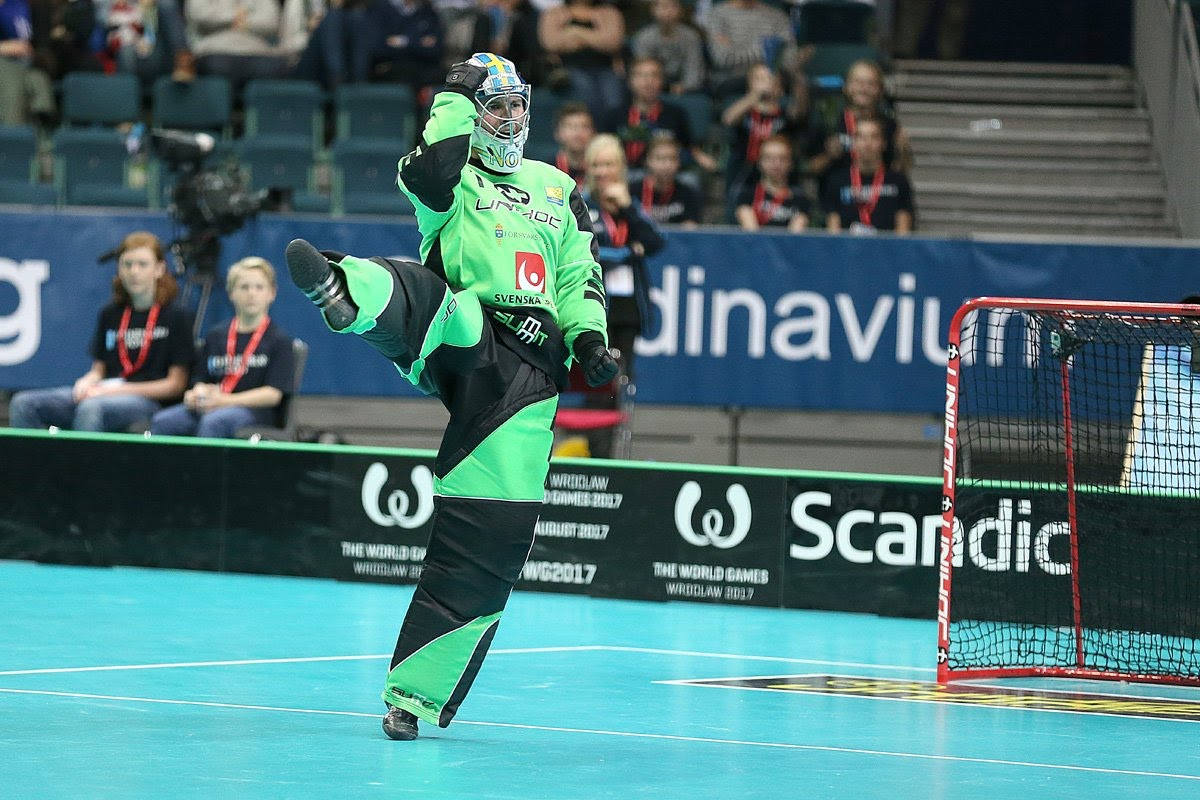 Goalkeeper Floorball