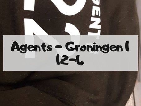 BREAKING News: Agents reach final after 12-4 win against UFC Groningen