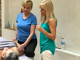 Ann Murley Teaching At Omaha Massage Continuing Education Workshops
