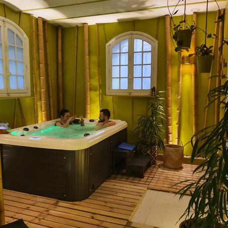 La Villa Alecya inaugure son spa !  Villa Alecya inaugurates its spa!