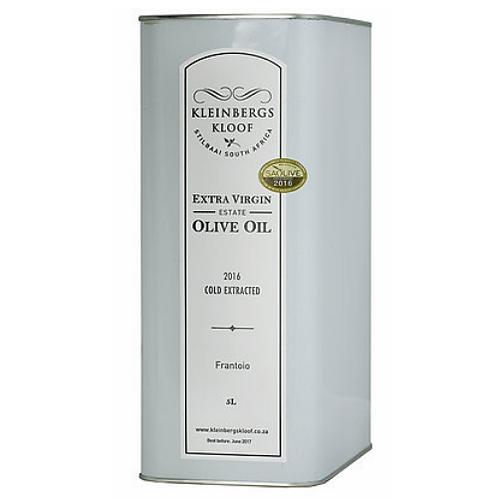 Kleinbergskloof Extra Virgin Olive Oil 5L
