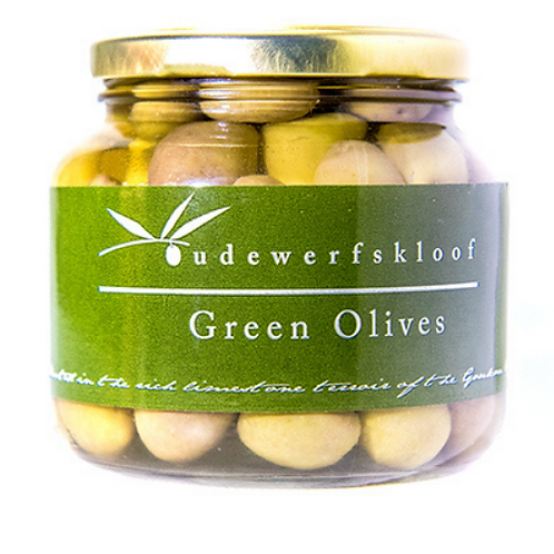 Oudewerfskloof Green Mission Olives (400ml)