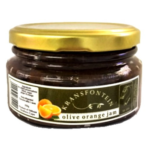 Kransfontein Olive & Orange Jam (200ml)