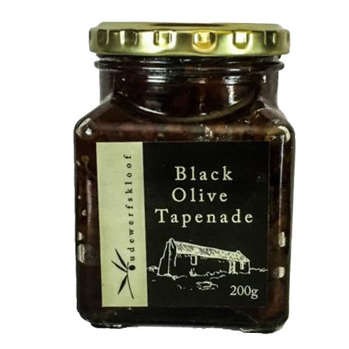 Oudewerfskloof Black Olive Tapenade (200ml)