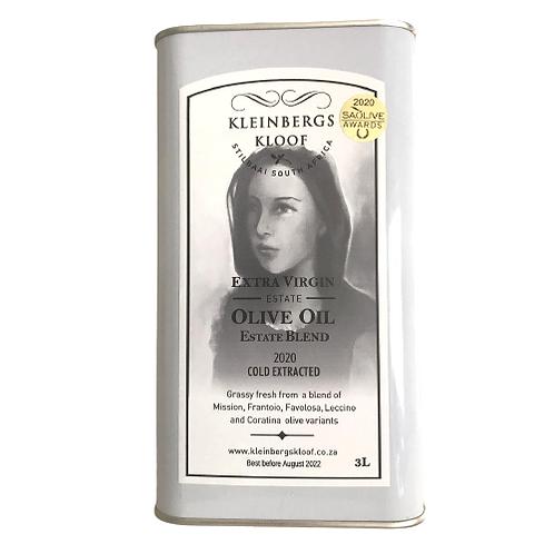Kleinbergskloof Extra Virgin Olive Oil 3L