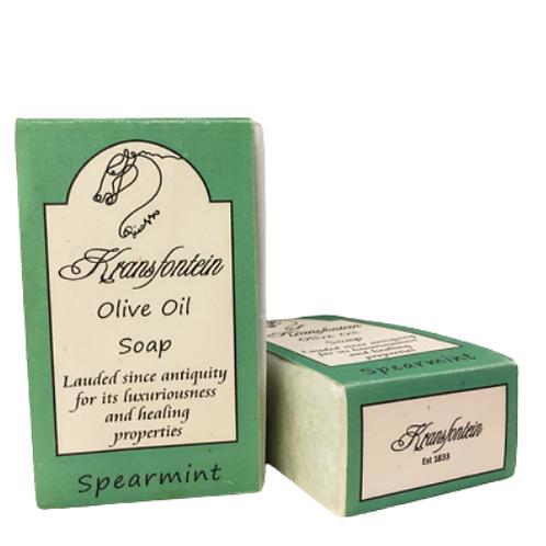 Kransfontein Handmade Olive Soap (Spearmint)