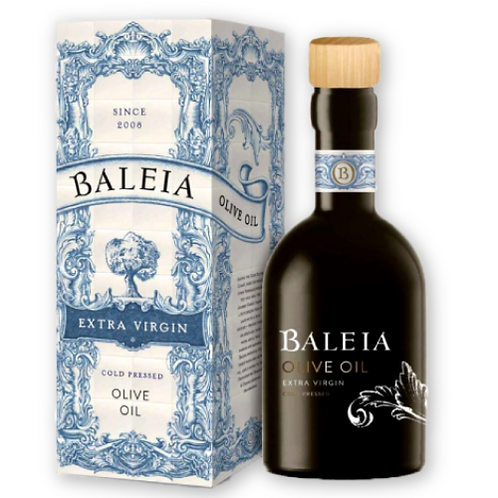 Baleia Extra Virgin Cold Pressed Olive Oil (375ml)