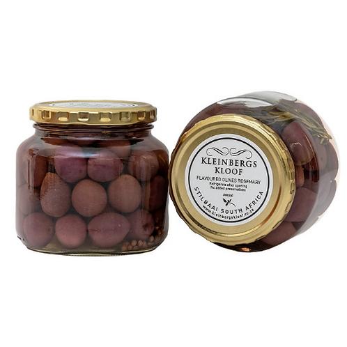 Kleinbergskloof Olives in Brine - Rosemary (500ml)