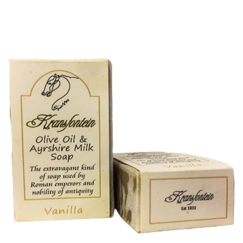 Kransfontein Handmade Olive & Ayrshire Milk Soap (Vanilla)