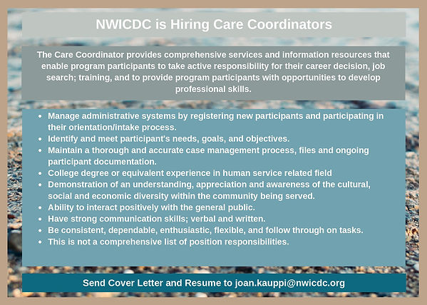 Care Coordinator Position Announcement-p